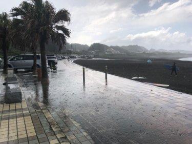 秋雨前線による大雨と落雷に要注意、午前中は様子見がベター【2019.8.30】
