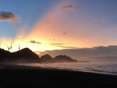 南西の風波が弱く反応した薄っぺらい波、水温低下でウエット要持参【2019.8.31】