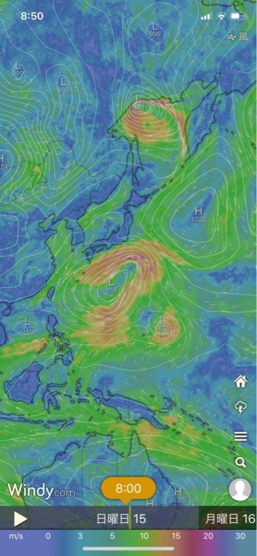 南東うねりが強まり千葉はハードな波、湘南もサイズアップ【2019.9.15】
