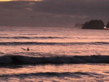 関東地方は北東の風が吹き続く肌寒い一日、湘南は早めにサーフィンしておきたい【2019.9.18】