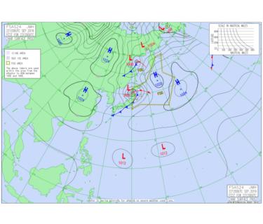 台風17号は日本海を時速55kmで北東進、温帯低気圧化後も北日本は要警戒【2019.9.23】