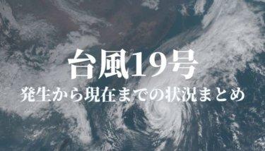 2019年台風19号(T1919:ハギビス)~発生からの気象・被害状況まとめ