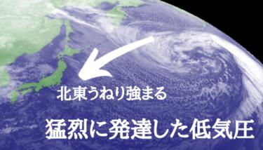 千葉に北東うねりが反応しはじめる、強いうねりと北東の風をかわすポイントへ【2019.12.29】