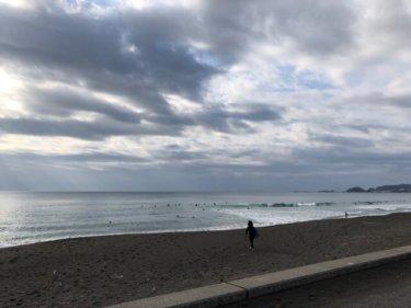 潮の引きで思ったよりも遊べた午前中、午後は北東の風の影響がでてきそう【2020.1.25】