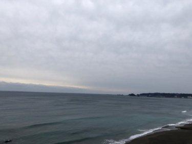 千葉は午後から雨が降り出し北東の風が吹き続く、明日は一日雨となりそう【2020.1.27】