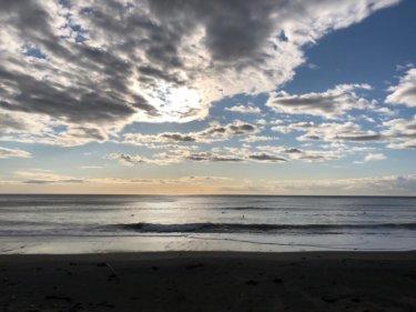北西オフショアで波はまとまるも風が強すぎ….明日から北東うねりが反応しそう【2020.1.31】