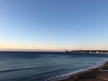 北東〜東うねりで千葉北は朝一からいい波、千葉南は昼前から良くなりそう【2020.2.11】
