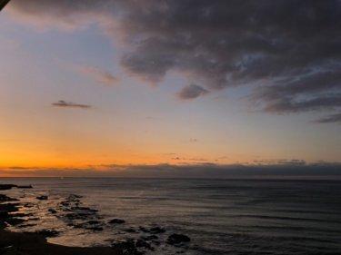 湘南は朝一から遊べる波!千葉も早めが良さそうだけど午前中は潮が多い【2020.2.19】