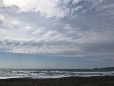 関東地方で春一番を観測、南西の風が強すぎでサーフィンは一宮や千倉のみ【2020.2.22】