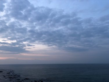 コロナとサーフィンどう向き合うべきか ?午後から北東の風【2020.4.5】
