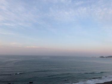 波は小さいけど久しぶりに海に入るだけで気持ちいい【2020.5.30】