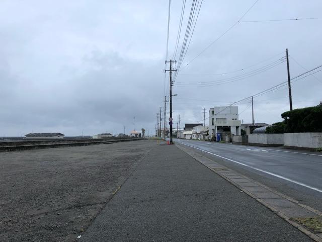 千倉の駐車場