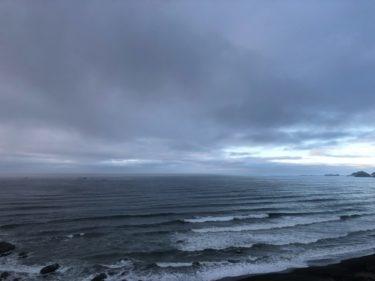 低気圧からの南東~東うねりでサイズアップ、朝は風弱く遊べる波【2020.6.2】
