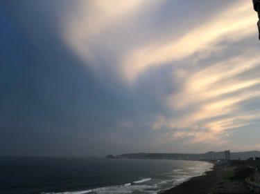 南西うねりが残り朝一は風も無風なファンコンディション【2020.6.16】