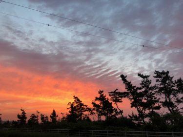低気圧通過後の南うねり+北風に期待、土曜の朝一が狙い目か【2020.6.18】