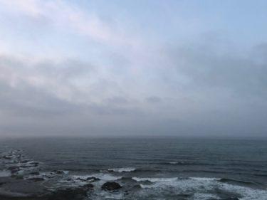 朝一は風弱く南西の風波が残って昨夜よりまとまった波【2020.6.27】