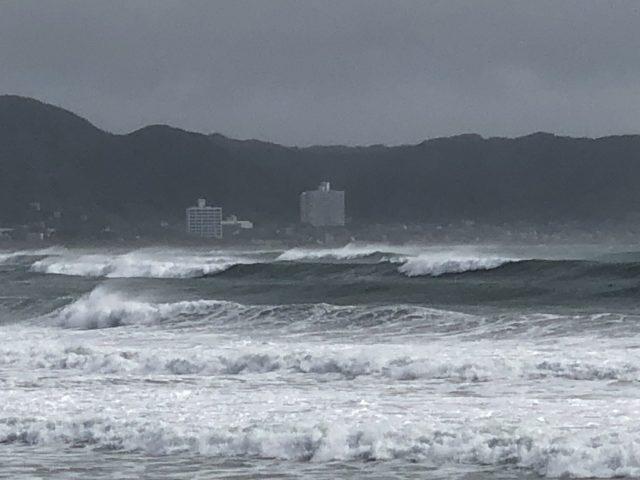 台風12号和田浦
