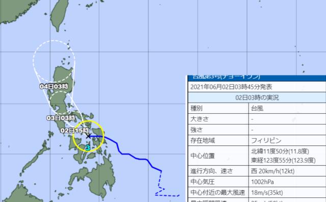 台風3号_210602