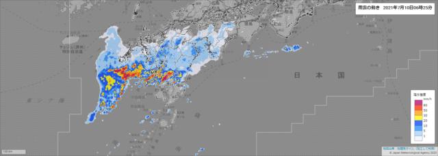 雨雲の動き_210710