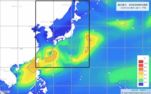 沿岸波浪予想図-09