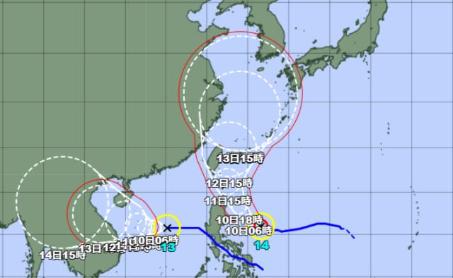 台風13-14号_210909