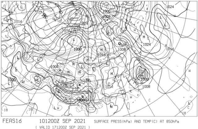 数値予報天気図_FEAS16_17日21時
